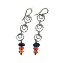 Chain Drop Earrings Free Pattern