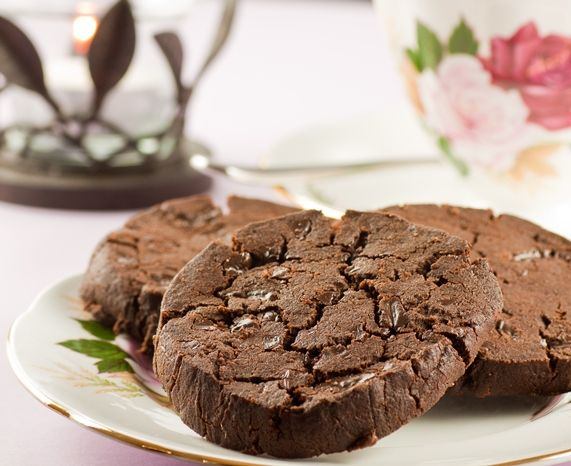 Dorie Greenspan's delicious Korova Cookie (double chocolate cookie ...