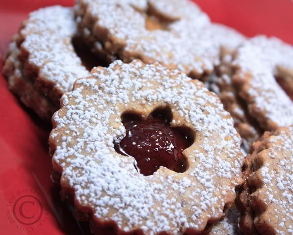 Linzer Sable Cookies | Xmas Cookies | Pinterest