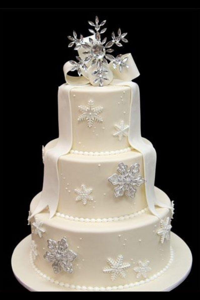 Christmas Themed Wedding Cake. Ideas for Nikky s Wedding ...