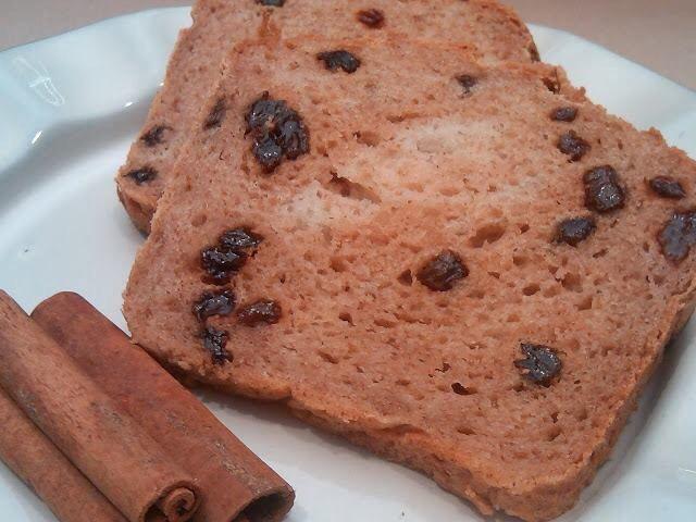 Gluten Free Cinnamon Raison Bread | Healthy Recipes | Pinterest