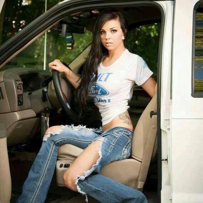 Hottie | Babes cars/trucks | Pinterest