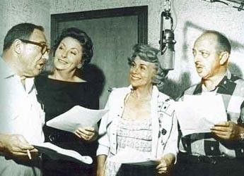 Flintstone voice actors animation pinterest