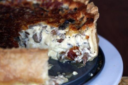 Over-the-top Mushroom Quiche! | Breakfast Foods | Pinterest