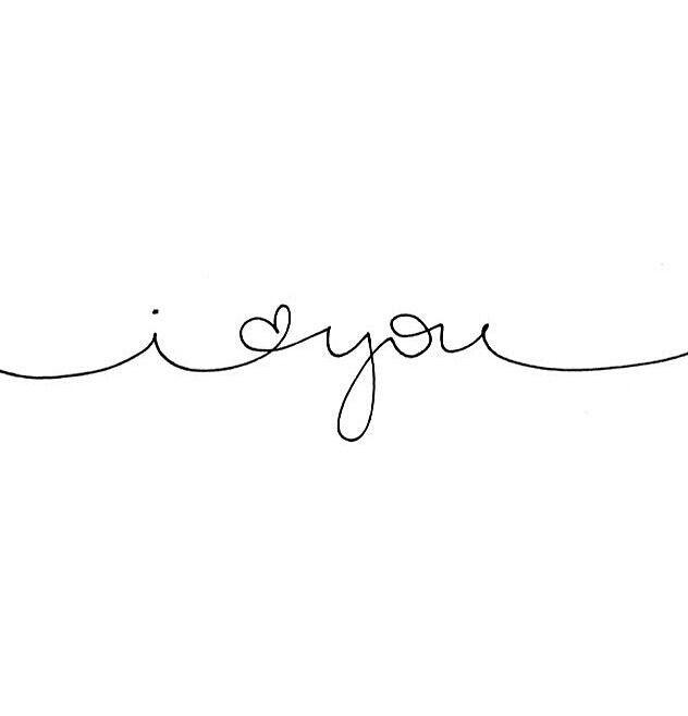 i love you in cursive font - photo #21