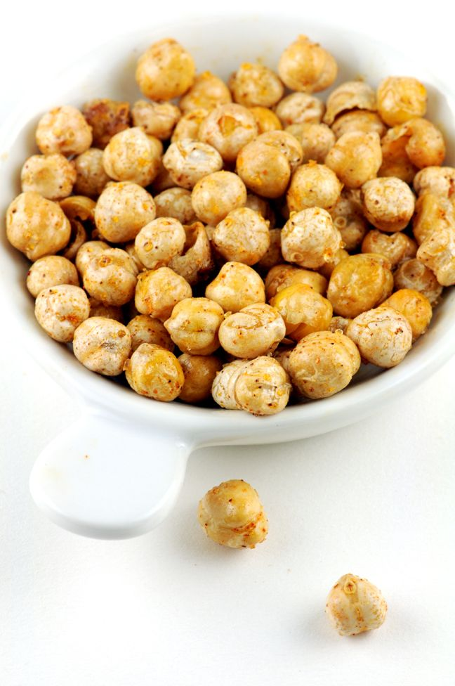 Roasted Chickpeas | Healthy Food to Make | Pinterest