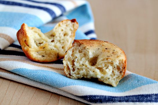 Cheesy Herbed Popovers | favorite recipes i've made | Pinterest