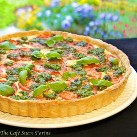 The Café Sucré Farine: Herbed Ricotta Tomato Tart