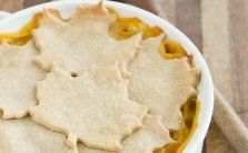 Butternut Squash and Lentil Pot Pie by Naturally Ella