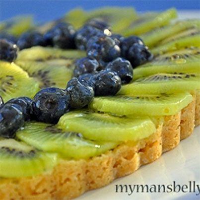 Blueberry Kiwi Lemonade Tart | Foods | Pinterest