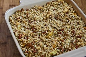 Recipe for Low-Sugar Flourless Apple Crisp made with Olive Oil (Vegan ...