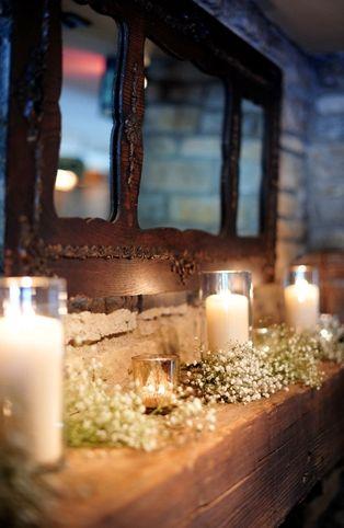 decoración, blanco, boda, fotografía