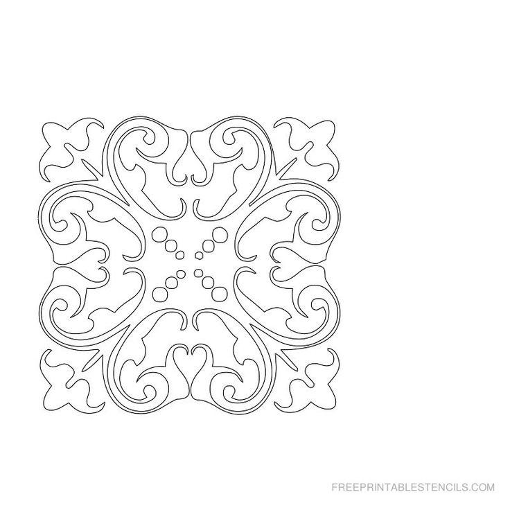 damask-stencil-x.jpg (800×800)   free printable   Pinterest