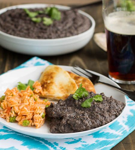 Refried Black Beans — Spicy Southern Kitchen