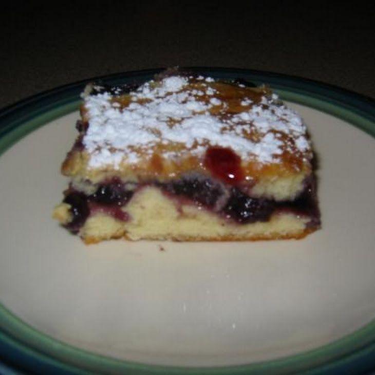 Blueberry Breakfast Bars   Goodies   Pinterest