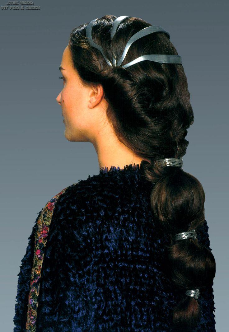 party hairstyles for medium length hair : Padme hair Jedi Hair Styles Pinterest
