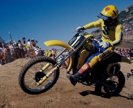 Suzuki Motocross Riders