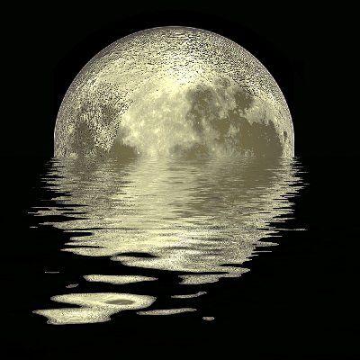 Moon River... | Sunshine and Moonbeams | Pinterest