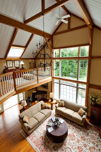 Windows pole barn home pinterest for Barn loft homes