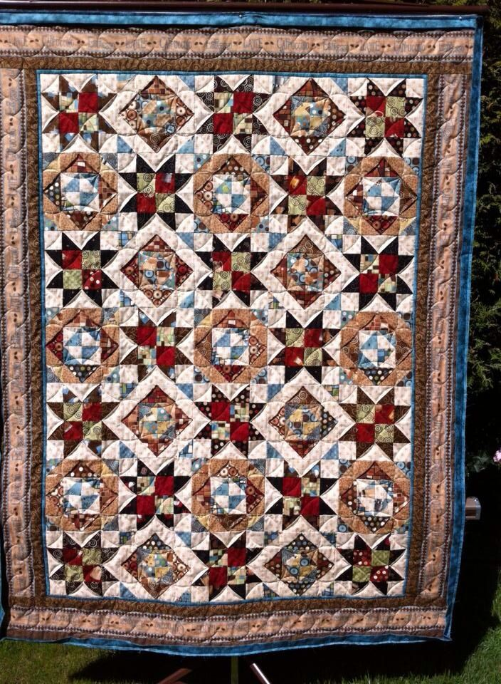 Mystery quilt pattern i designed quilting pinterest
