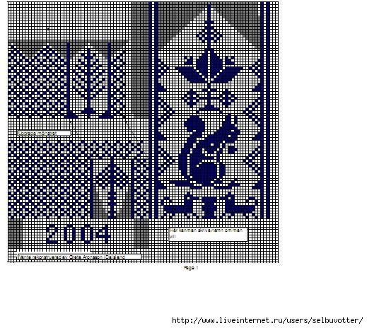 Рисунки для вязания спицами для варежек спицами 52