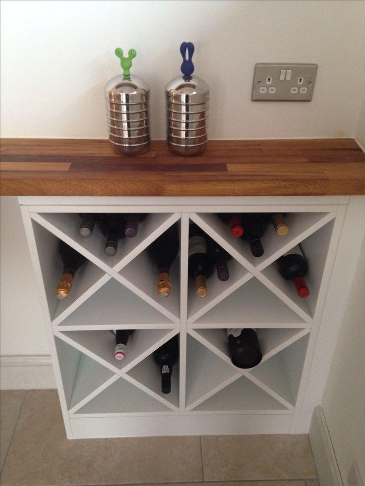 DIY wine rack  Projects  Pinterest