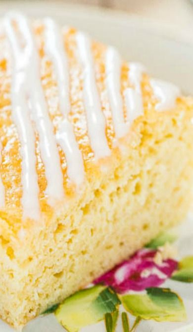 Sweet Cream Vanilla Coffee Cake | Recipe