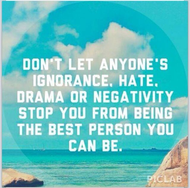 how to stop being a negative person
