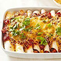 Black Bean and Root Vegetable Enchiladas