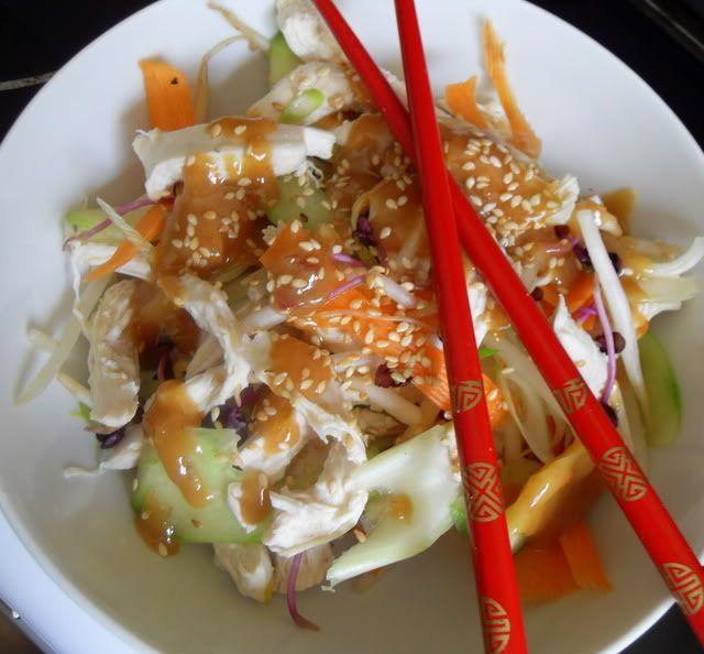 The English Kitchen: Bang Bang Chicken Salad