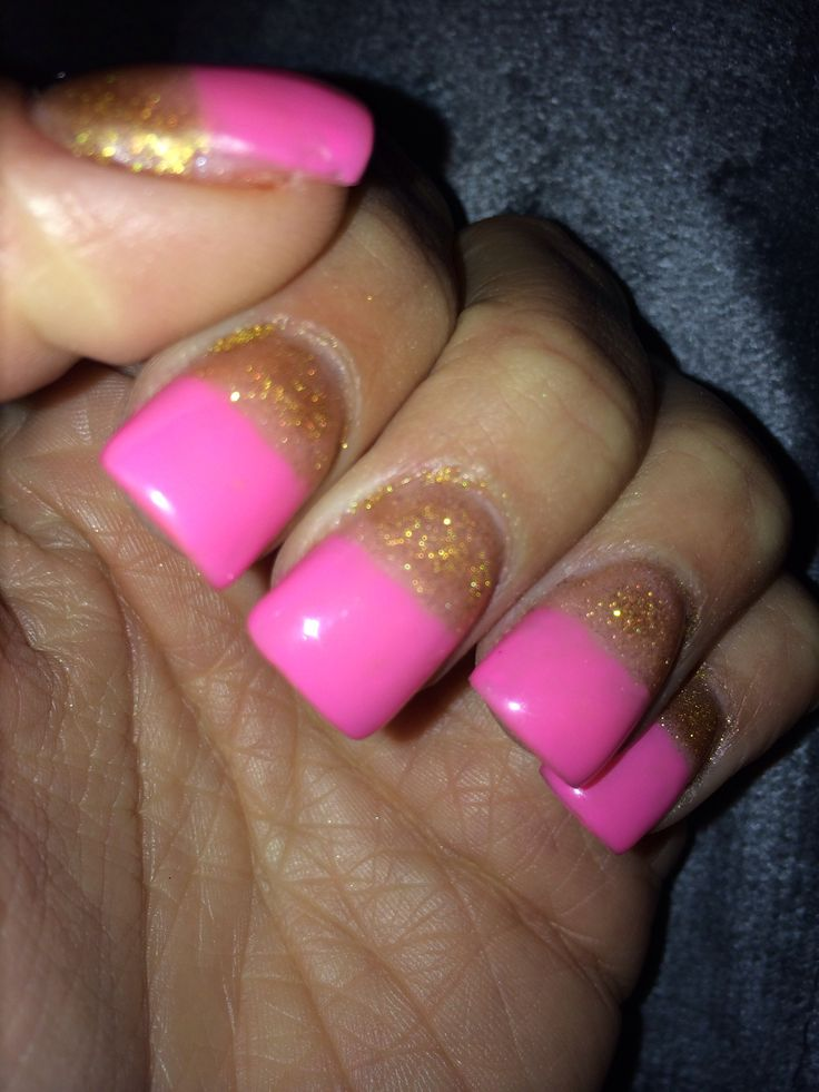 Solar gel nails for Valentines Day! | nails | Pinterest