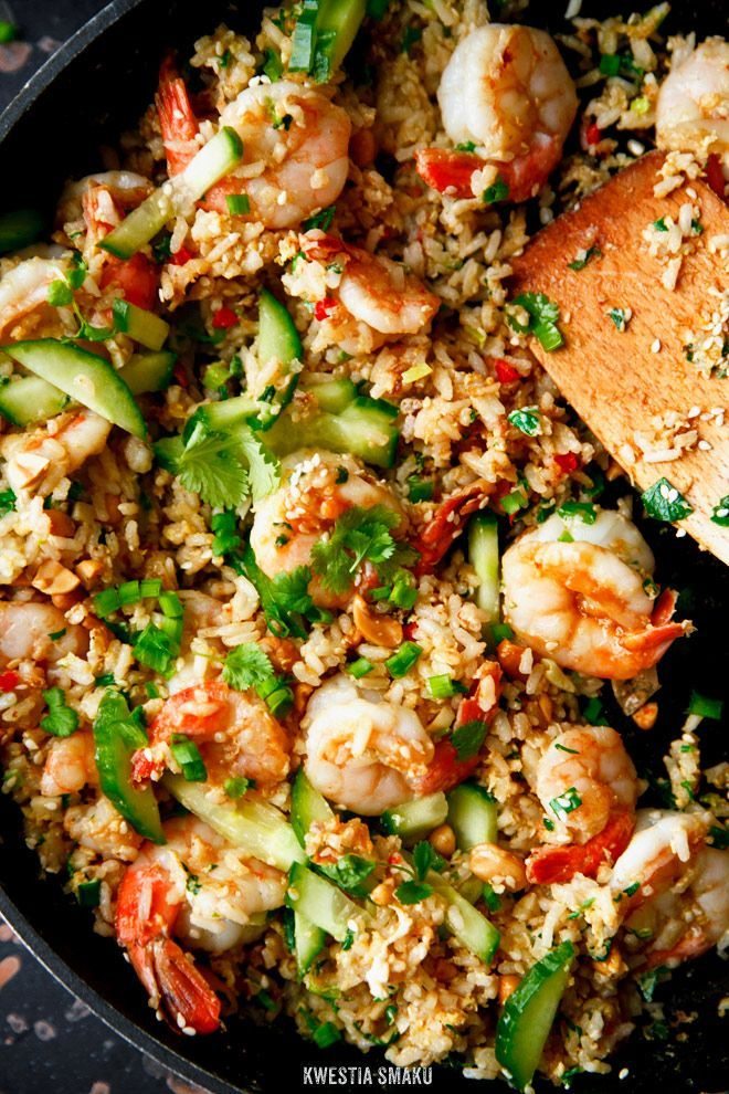 Shrimp Fried Rice.. | Asian Foods | Pinterest