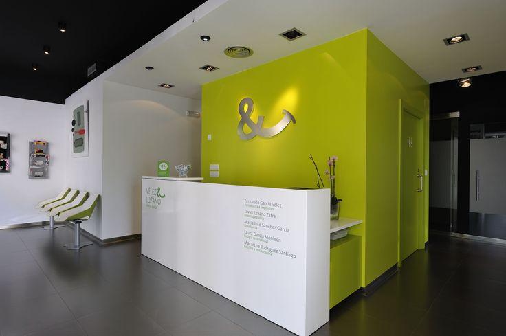 Office Front Desk Design Impressive Inspiration
