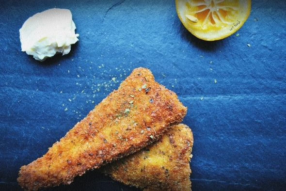 Panko-crusted fried catfish | Favorite Recipes | Pinterest