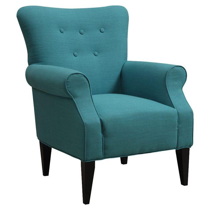 Teal Arm Chair Art In Furniture Pinterest