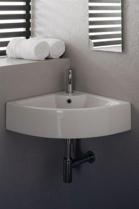 Corner Washbasins : Modern Corner Wash Basin Dream Bathroom Pinterest