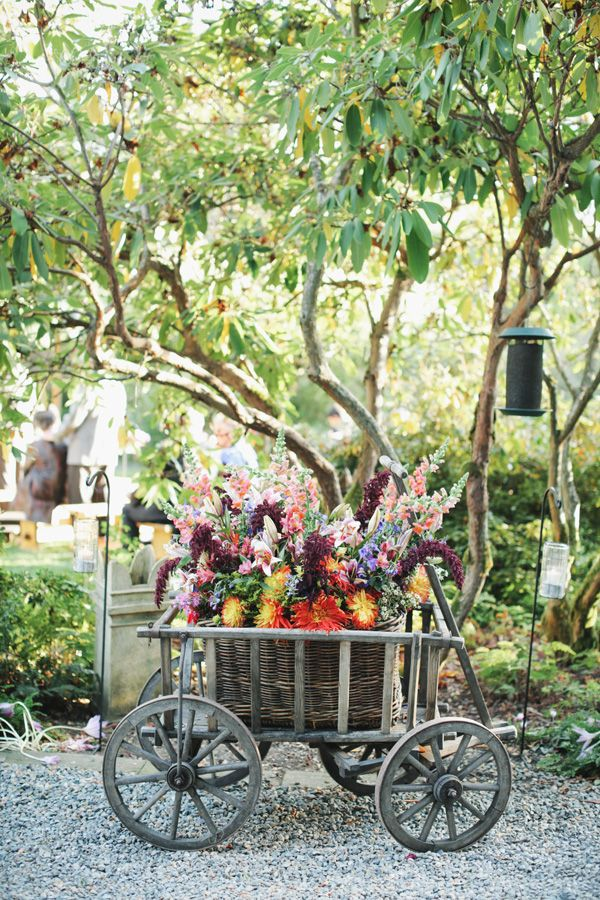 Rustic garden decor ideas photograph rustic outdoor weddin for Garden decoration ideas