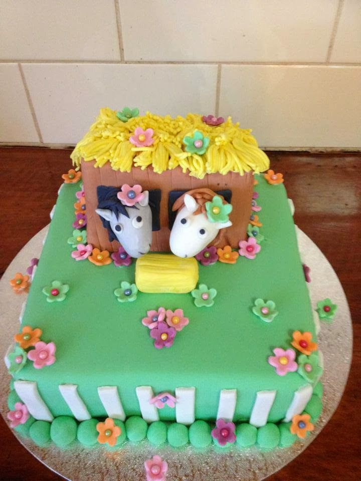 horse cakes for birthdays