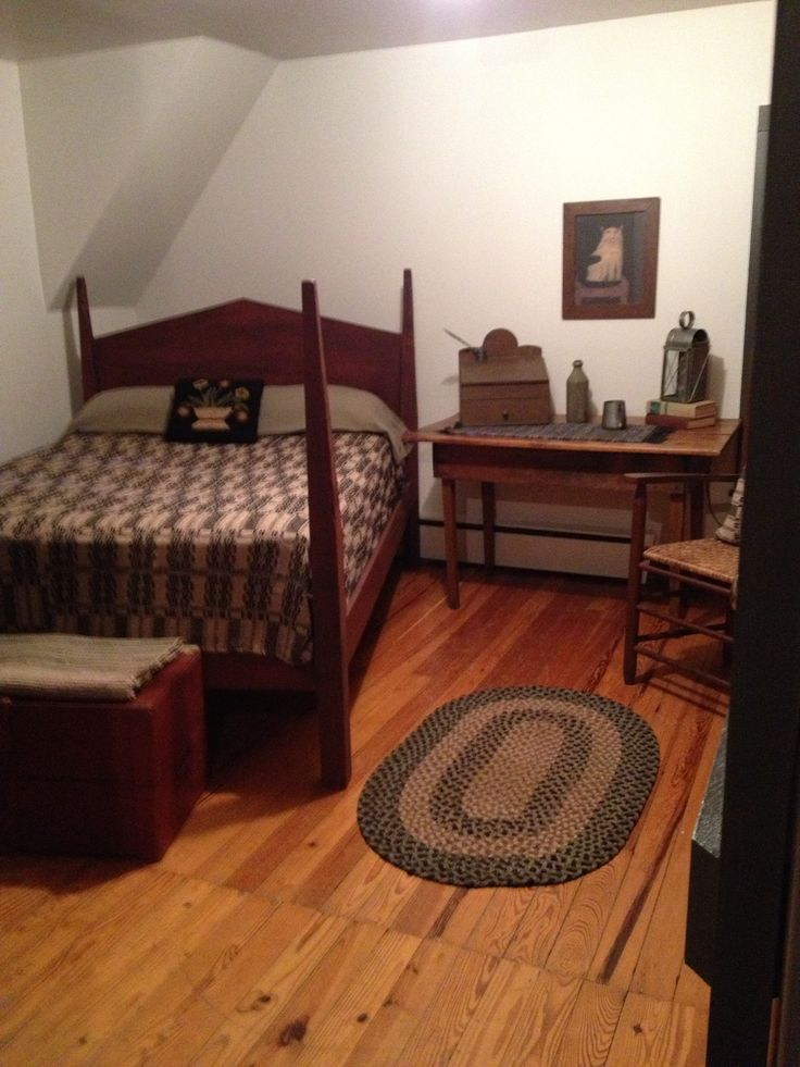 primitive spaces primitive bedrooms pinterest