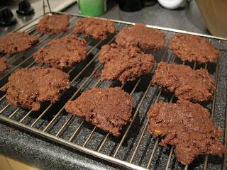 ... Sunshine: Chocolate Orange Cornmeal Cookies (gluten-free and vegan