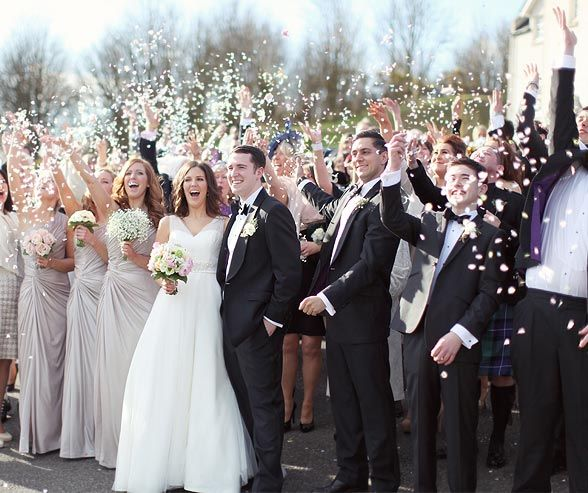 Wedding Party In Classic Black Tie Attire Read 5 Reasons Why We Think