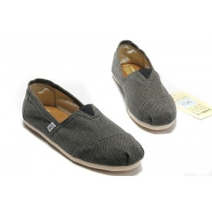 Discounted TOMS Gray Toms Shoes Nyc
