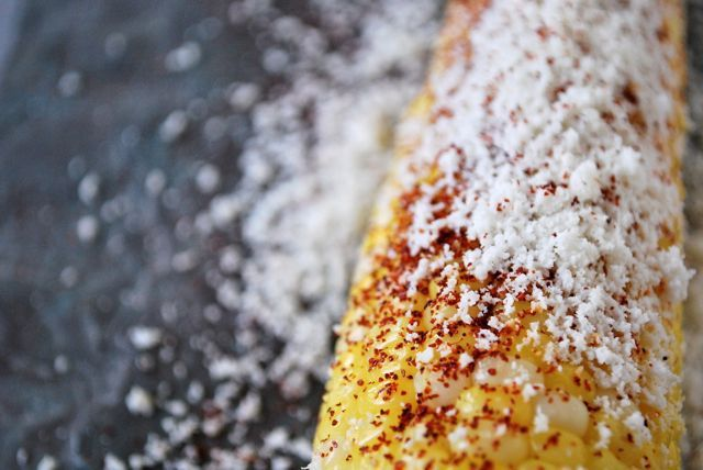 Corn on the cob with cotija, chili & lime | Recipe