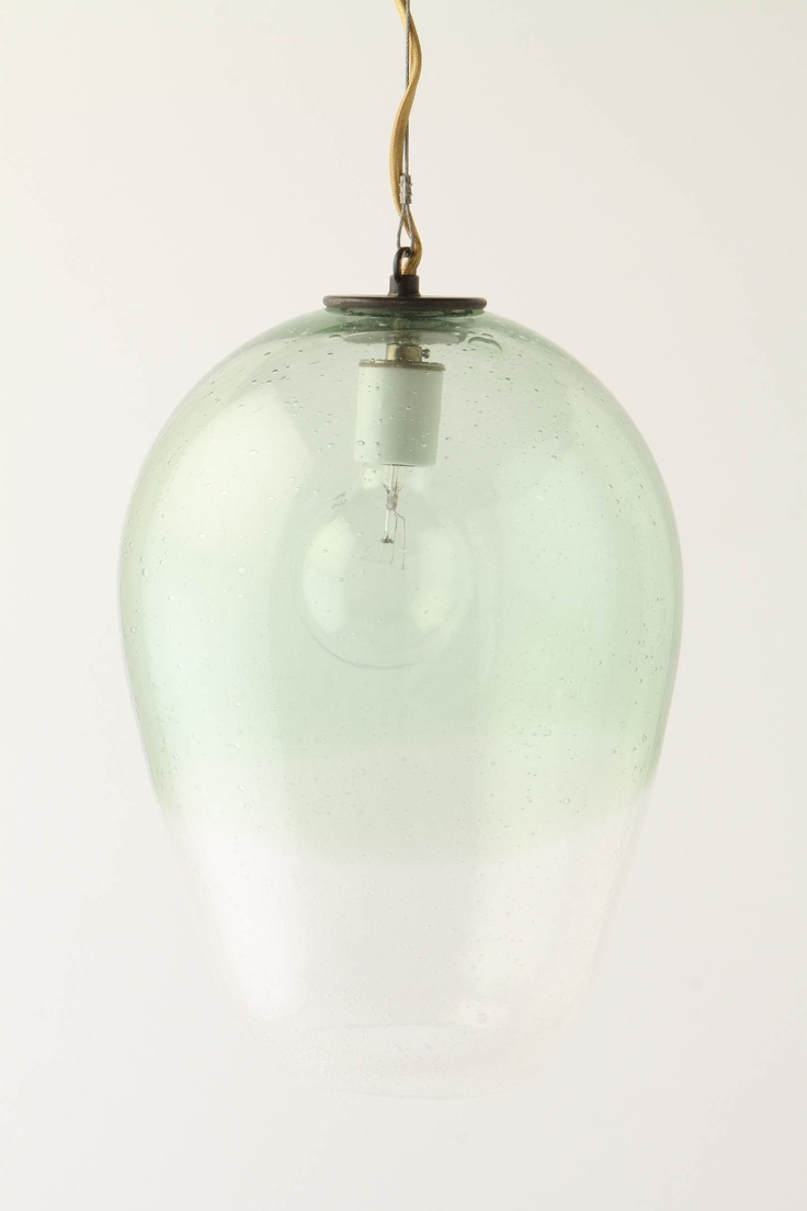 Love the hint of hue to this pendant