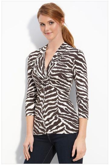 Zebra Print Blouses 73