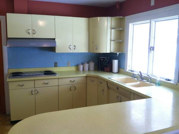 Vintage youngstown metal kitchen cabinets home kitchen spiration