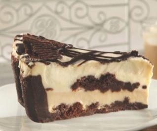 Irish Cream Bash Pie. White chocolate mousse and delicate chocolate ...