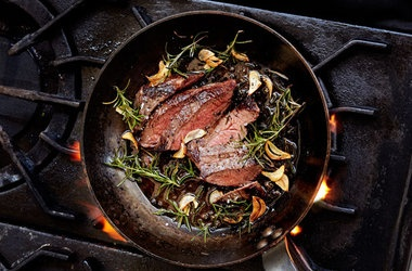 ... Recipes and Treats - Garlic-Rosemary Steak — Punchfork - #paleo