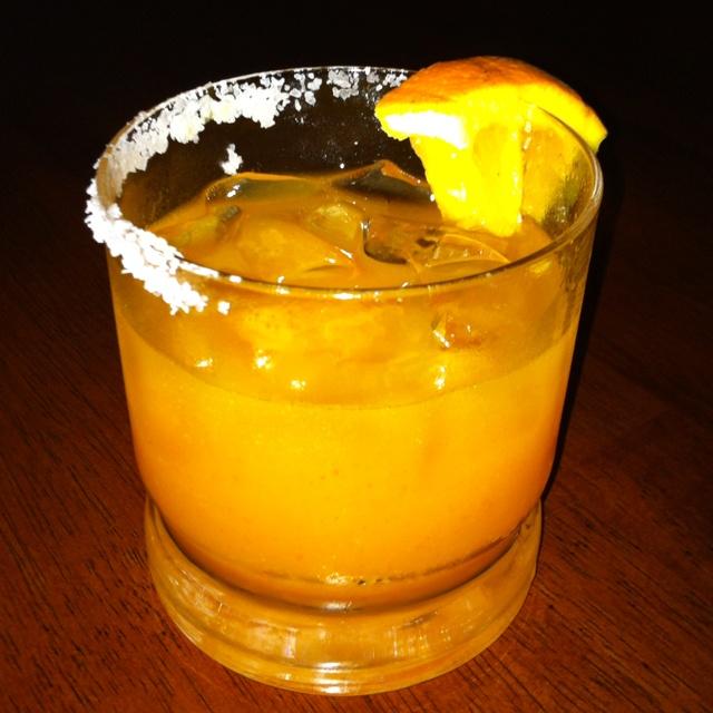 Spicy Mango Margaritas | Gracie's Pinorama | Pinterest