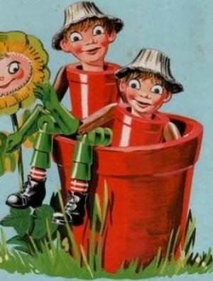 Bill and ben the flowerpot men down memory lane pinterest